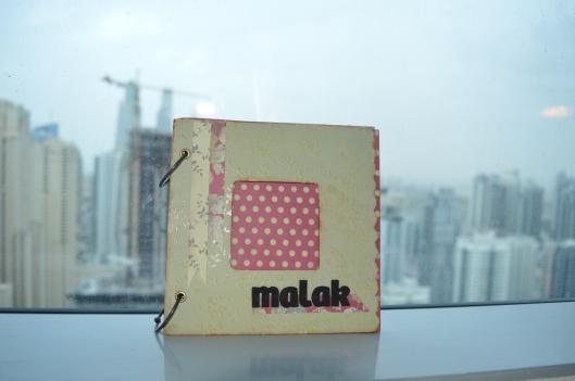 Portada mini álbum Malak